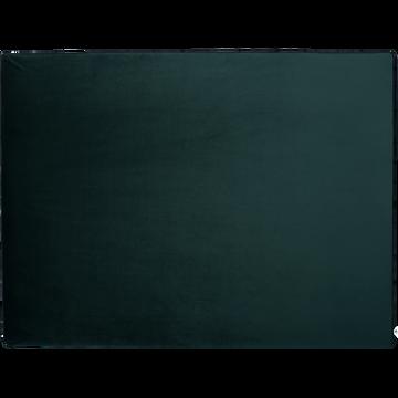 Housse en velours pour structure de tête de lit Honoré Vert cèdre - L180 cm-HONORE