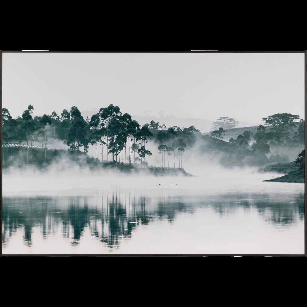 Image encadrée de paysage brumeux 81x121cm-Loan