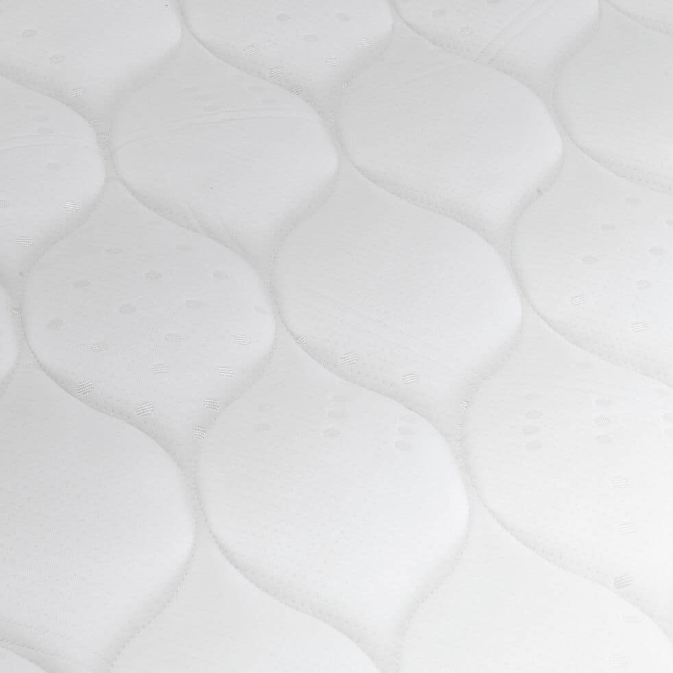 Matelas mousse gris clair 160x200cm H21cm-MAZAN
