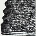 Suspension en fer - noir H47xD21cm-LOUP