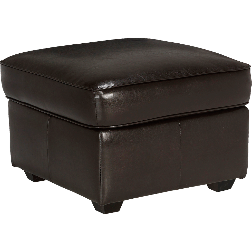 pouf coffre en cro te de cuir habana poufs et repose pieds alinea. Black Bedroom Furniture Sets. Home Design Ideas