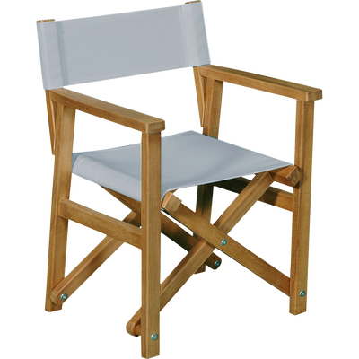 Chaise de casting 40x34x50cm gris-MAYA