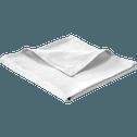 Serviette de table en coton jacquard blanc-Damea