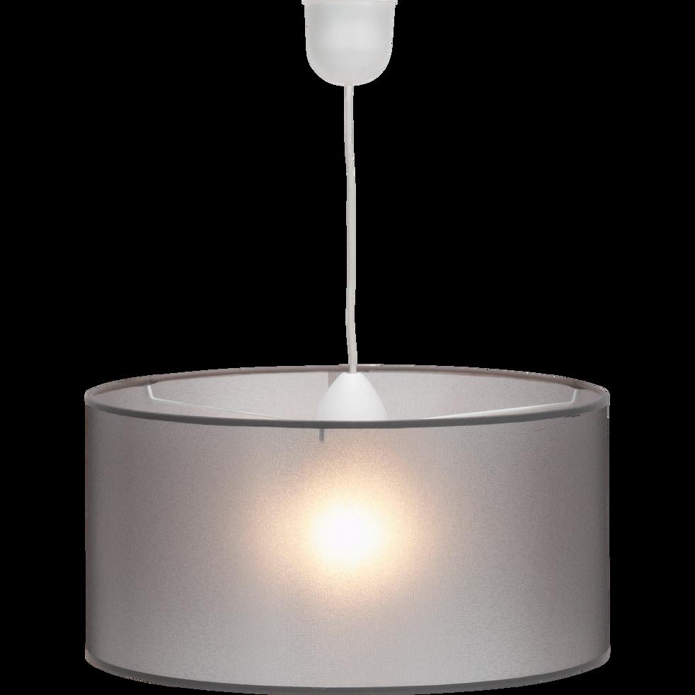 Suspension cylindrique non-électrifiée D40cm grise-Softy