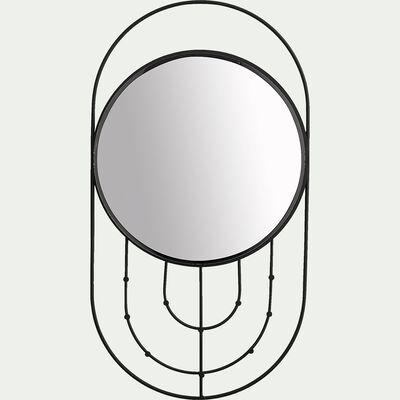 Miroir porte-bijoux en fer H55cm-JEWEL