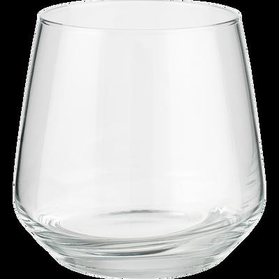 Coffret de 6 gobelets en verre 34,5cl-LAL