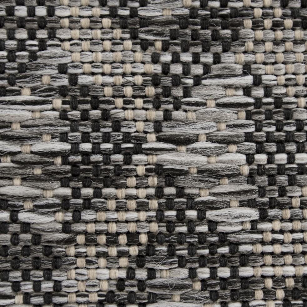 Tapis aspect sisal gris 160x230cm-DALIA