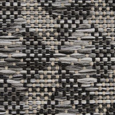Tapis aspect sisal gris 120x170cm-DALIA