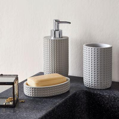 Set de salle de bain gris-LOUBET