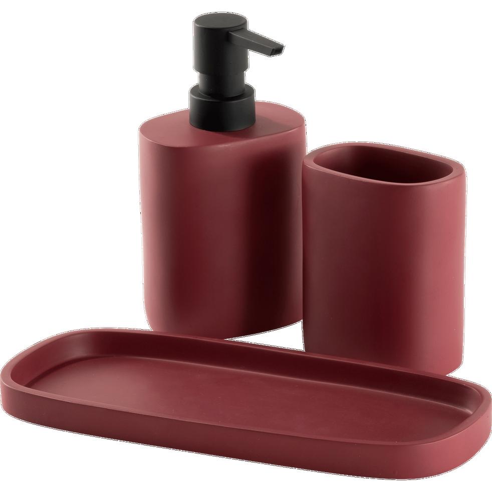 Porte-savon rouge-CALLISTO