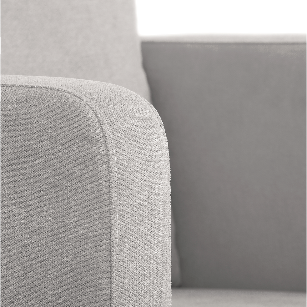 Fauteuil en tissu gris borie-JENNY