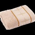 Serviette de bain 50x90cm à broderies cygnes-SWAN