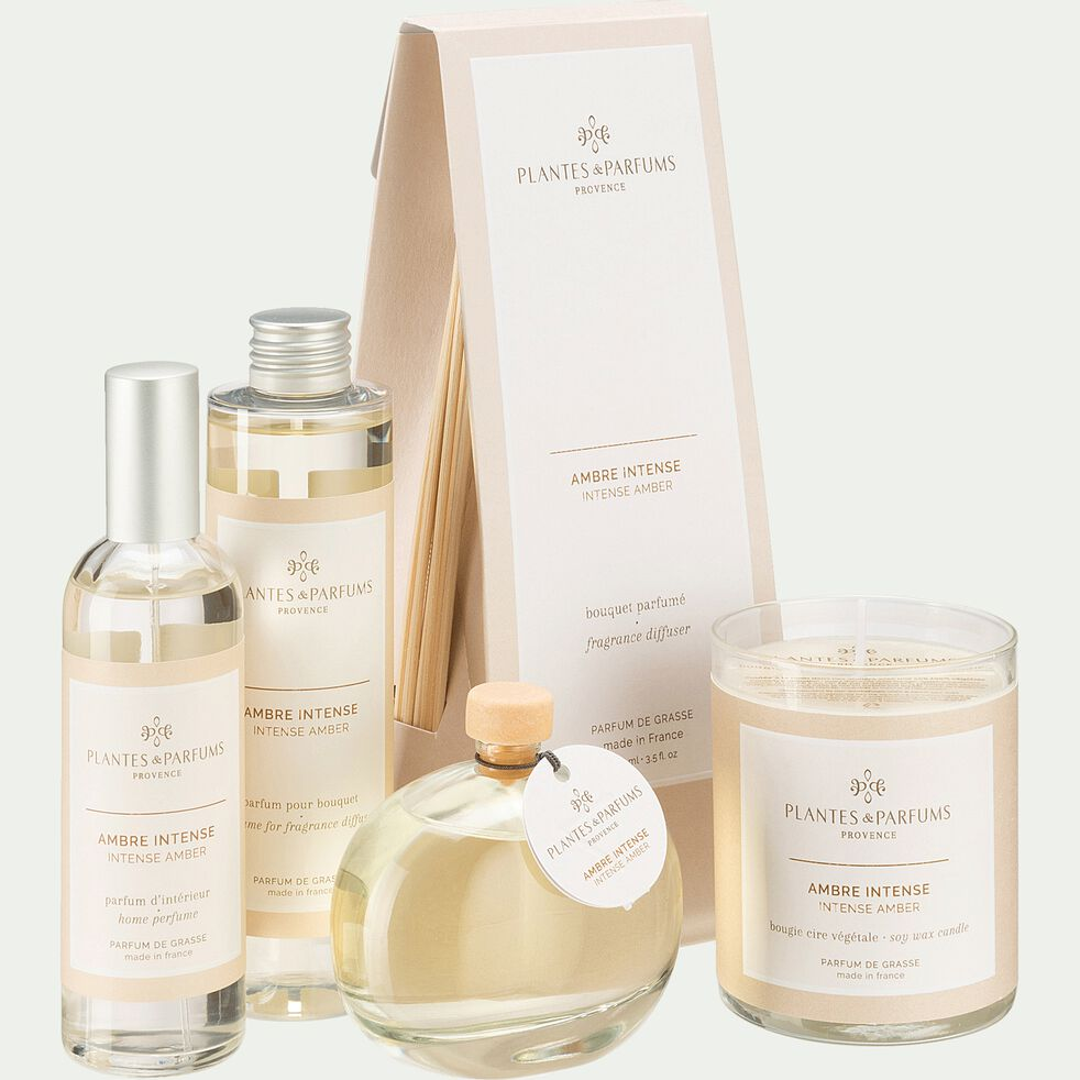 Diffuseur de parfum senteur Ambre Intense 100ml-AMBRE INTENSE