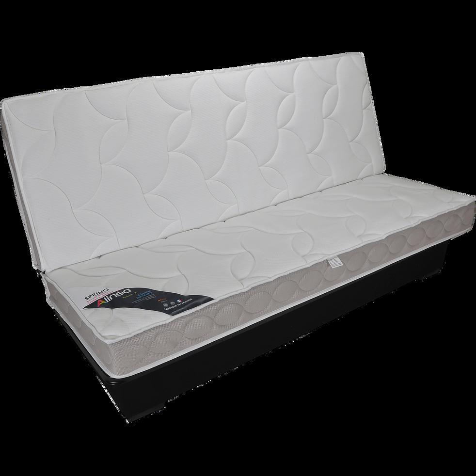 structure de clic clac 130cm avec matelas 15cm spring canap s clic clac alinea. Black Bedroom Furniture Sets. Home Design Ideas