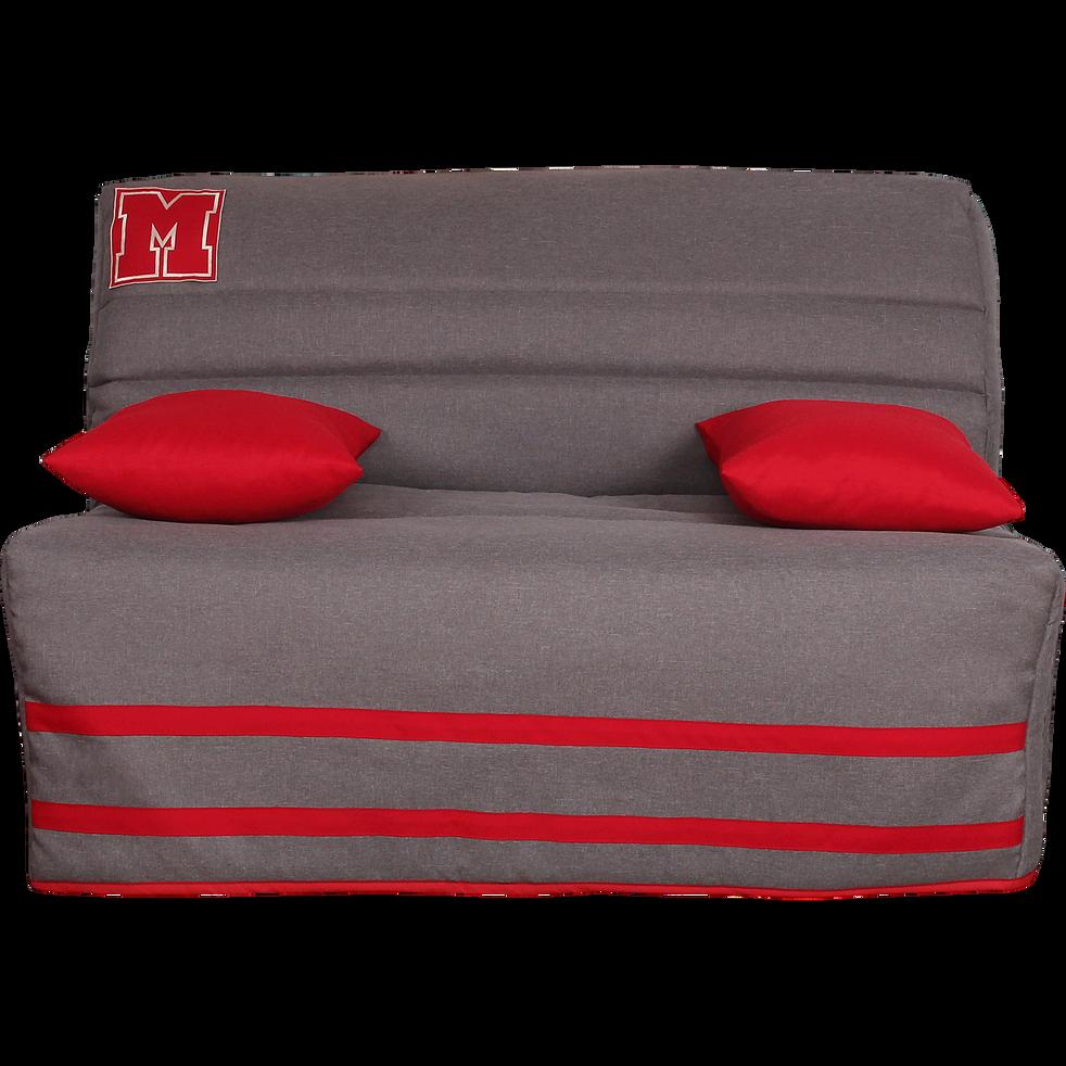 housse pour bz 140cm gris clair avec poche de rangement. Black Bedroom Furniture Sets. Home Design Ideas