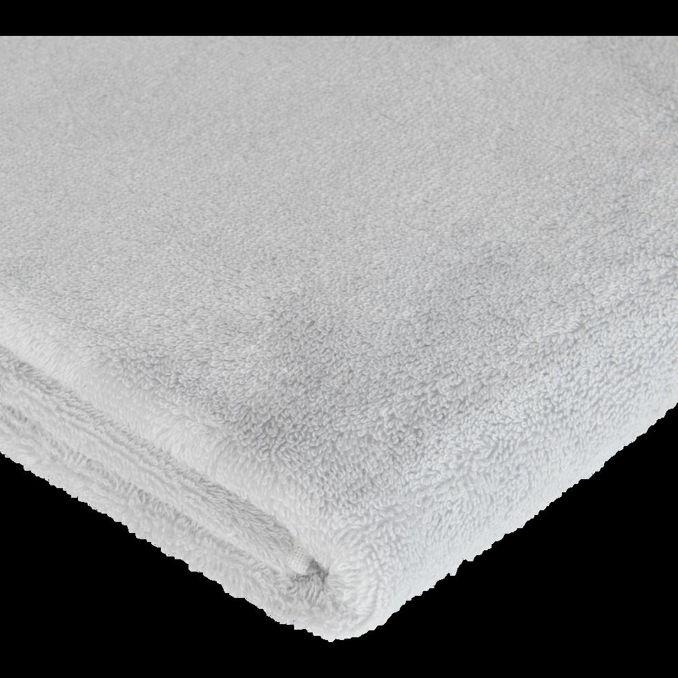 Drap de bain en coton 100x150cm gris borie-AZUR