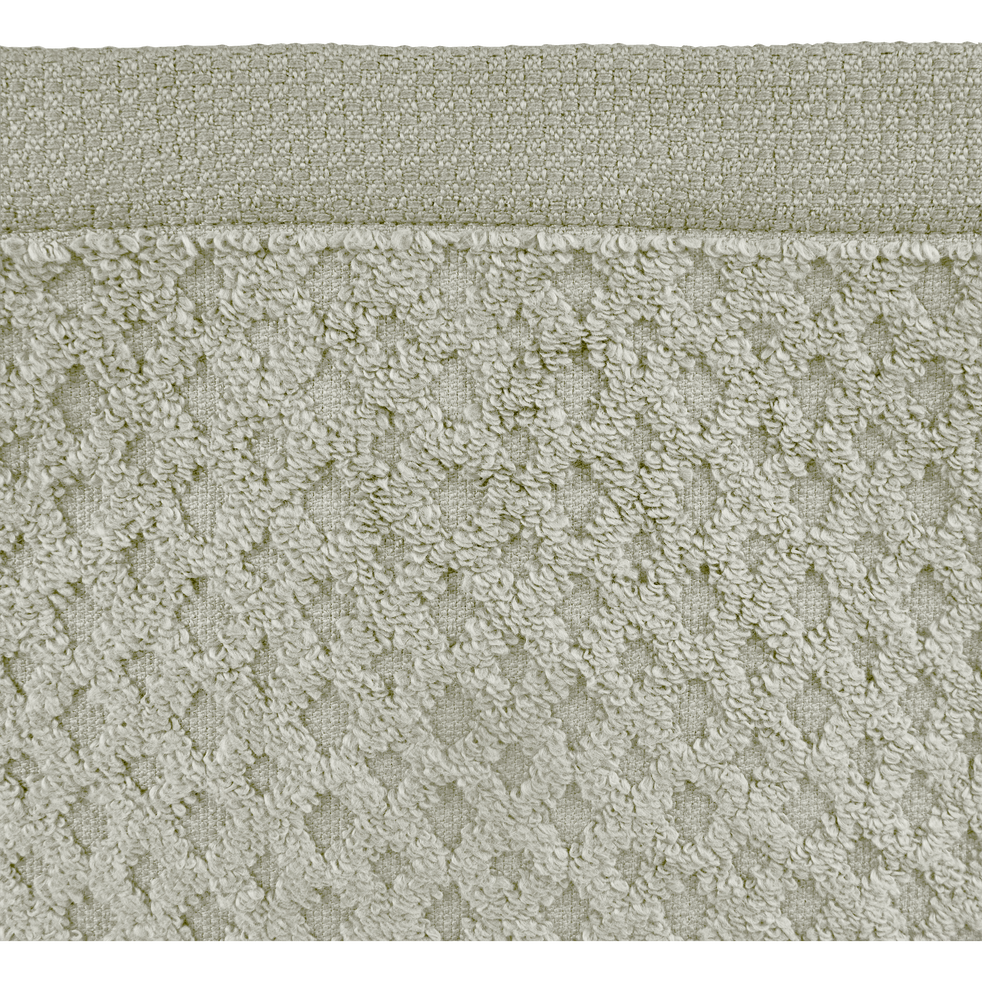Lot de 2 gants en coton vert olivier-ETEL