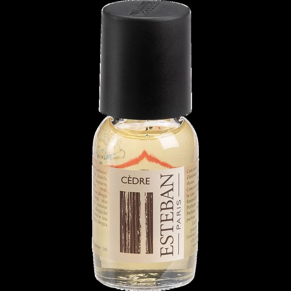 Concentré de parfum cèdre 15ml-CEDRE