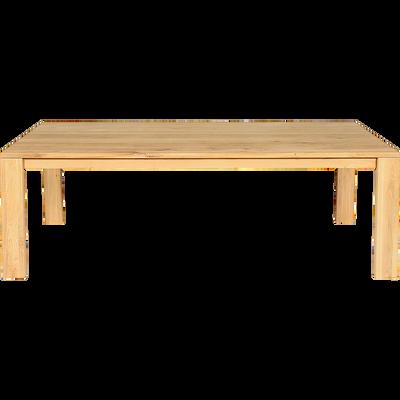 Table de repas en chêne massif - 10 places-EMOTION