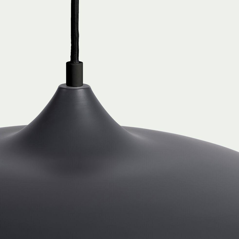Suspension en métal noir D45cm-GARANCE