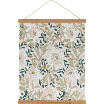 Decoration murale Kakemono imprime floral-ARBOUSIER
