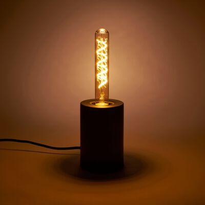 Ampoule LED décorative ambre H20cm culot E27-TUBE