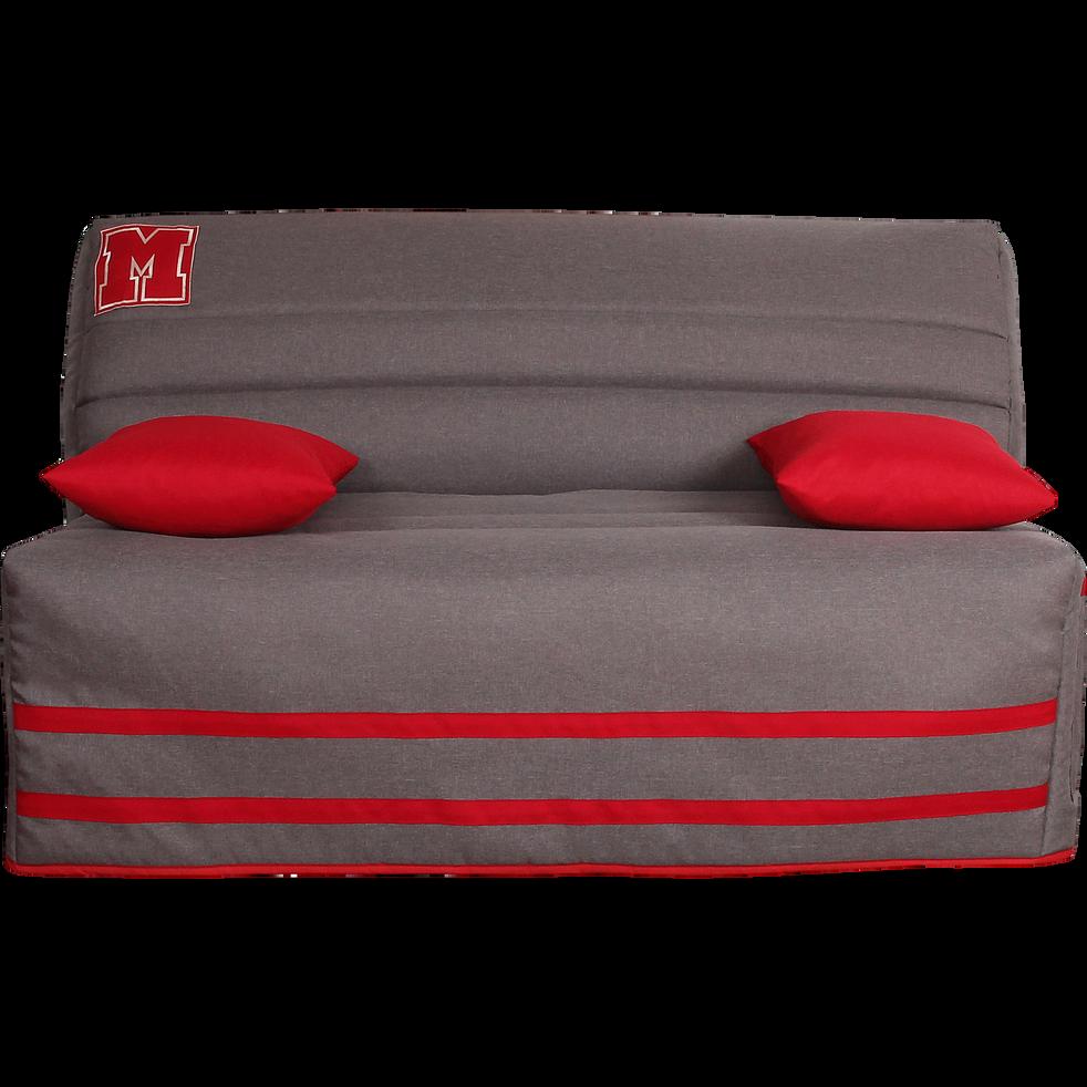 housse pour bz 160cm gris clair avec poche de rangement. Black Bedroom Furniture Sets. Home Design Ideas