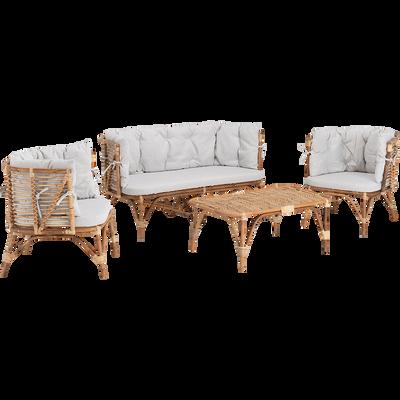 Salon de jardin - salon de jardin bois, aluminium, acier | alinea