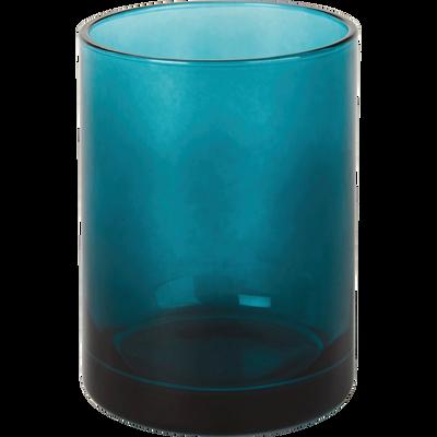 Gobelet en verre bleu niolon-LILAS