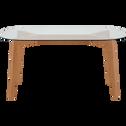 Table de repas en verre - 6 places-ZEPPLIN