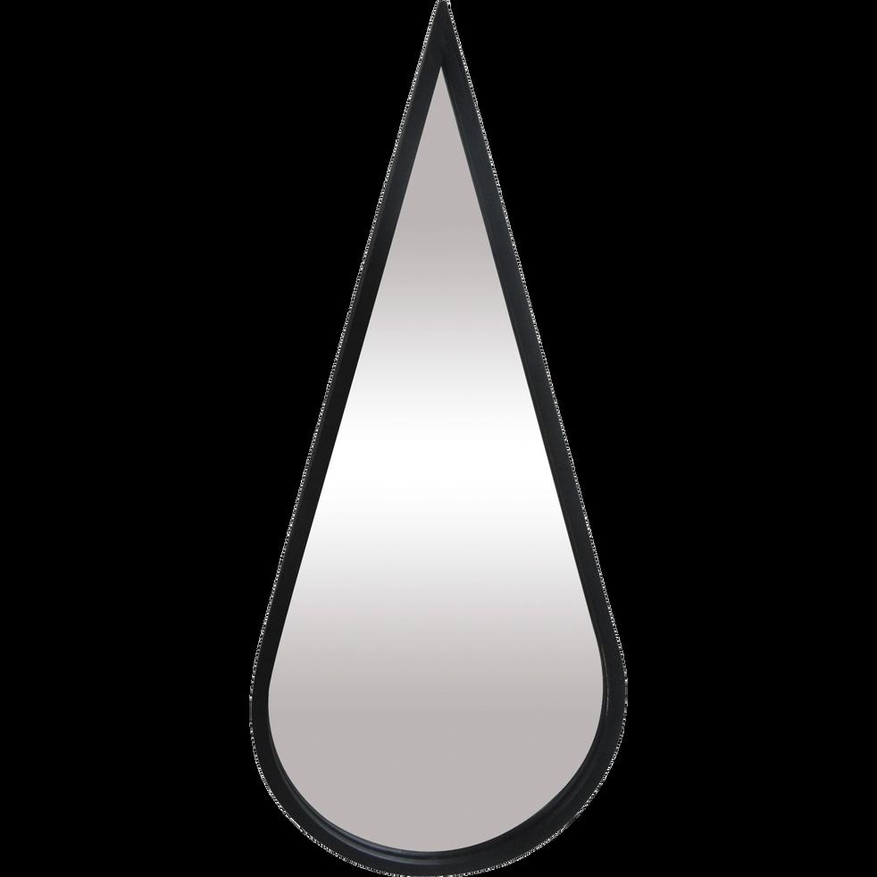 Miroir en métal en forme de goutte H51cm-YALA