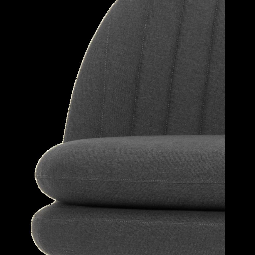 Fauteuil en tissu gris calabrun-VENOSA