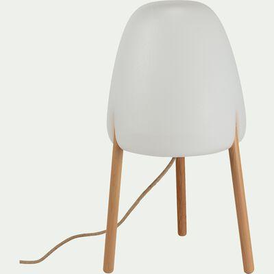 Lampe à poser d'extérieur - blanc H70cm-ROCKET