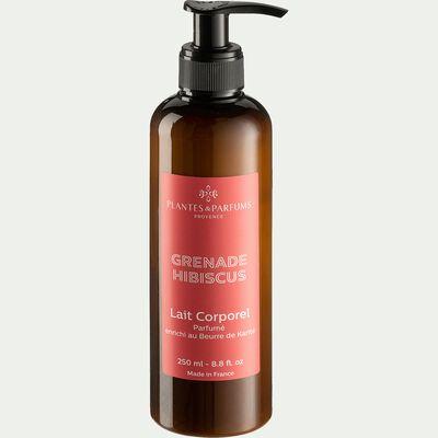 Lait pour le corps parfumé à la grenade et à l'hibiscus 250ml-EMMA