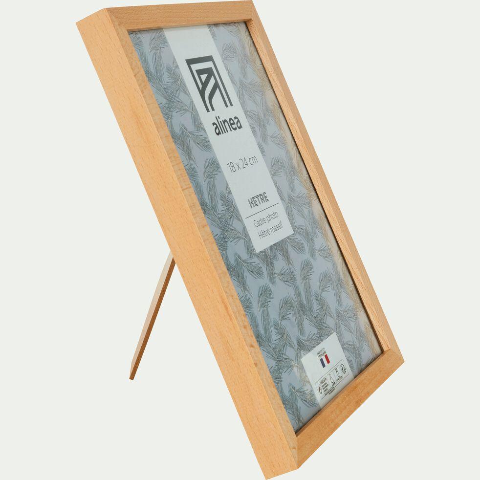 Cadre photo en bois L18xH24cm-HETRE