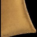 Coussin en velours bronze 40x40cm-DAO