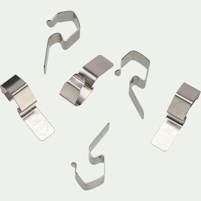 Sachet de 6 clips métalliques pour bocaux-WECK