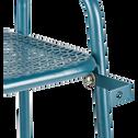 Support plante en acier bleu figuerolles L61xH88x34cm-ERBA