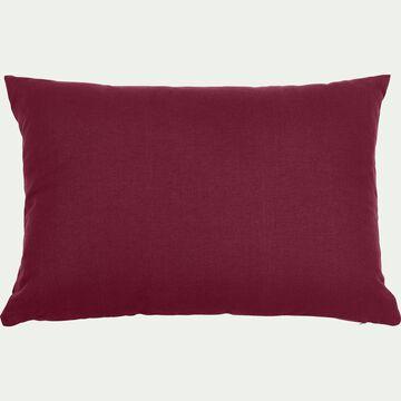 Coussin en coton - rouge sumac 40x60cm-CALANQUES