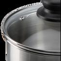 Batterie de cuisine 10 pièces en inox-SAVIN