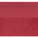 Drap de douche en coton 70x140cm rouge arbouse-AZUR