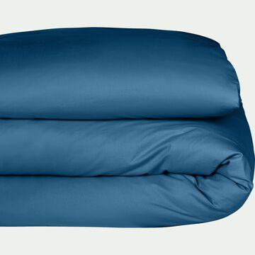 Housse de couette en coton bleu figuerolles-CALANQUES