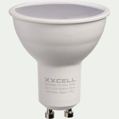 Ampoule LED blanc chaud D5cm culot GU10-GU10