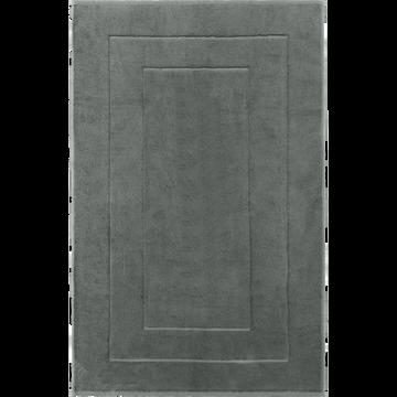 Maxi tapis  en coton 60x110 cm gris restanque-AZUR