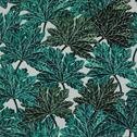 Papier peint intissé motif feuillage vert 10m-CORINTHE
