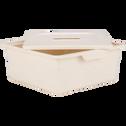 Tiroir de rangement 10L beige roucas-ZACCHARIE