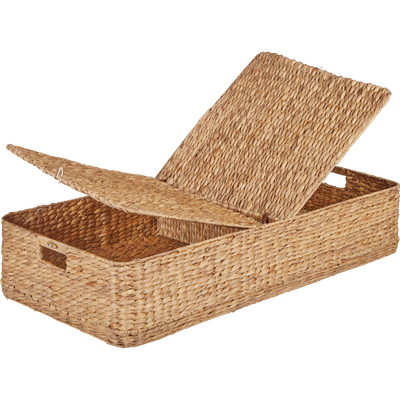 Panier dessous de lit en jonc (L100xl46cm)-ABBADIA