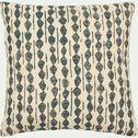 Coussin en coton à motifs bleu figuerolles 45x45 cm-BARRAS