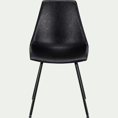 Chaise vintage noir-BERANGERE