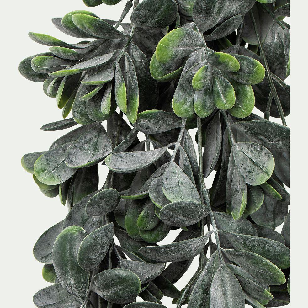 Plante ficus artificielle tombante en pot - vert L81cm-HICUS